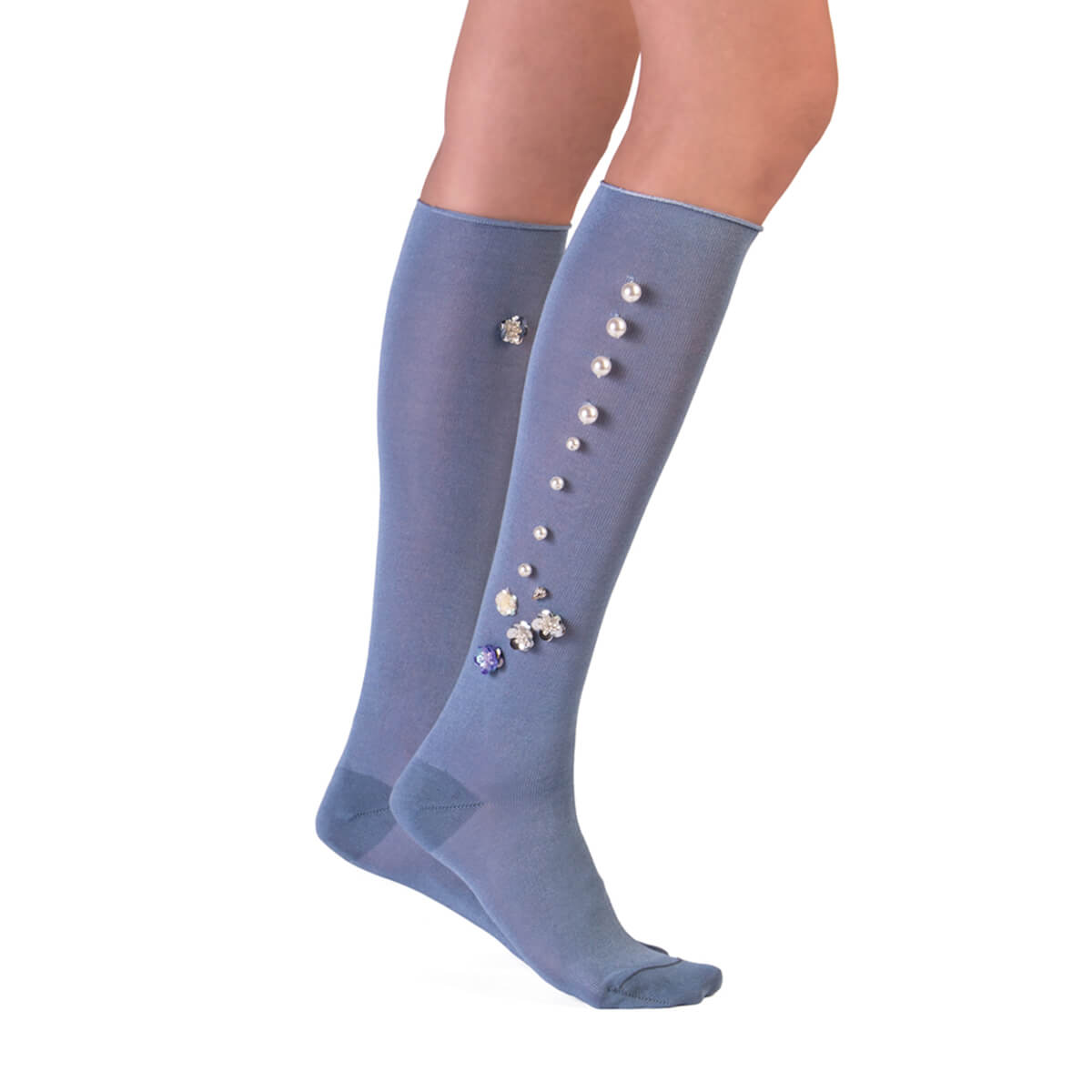 Jeweled Knee Socks - Sugar Paper