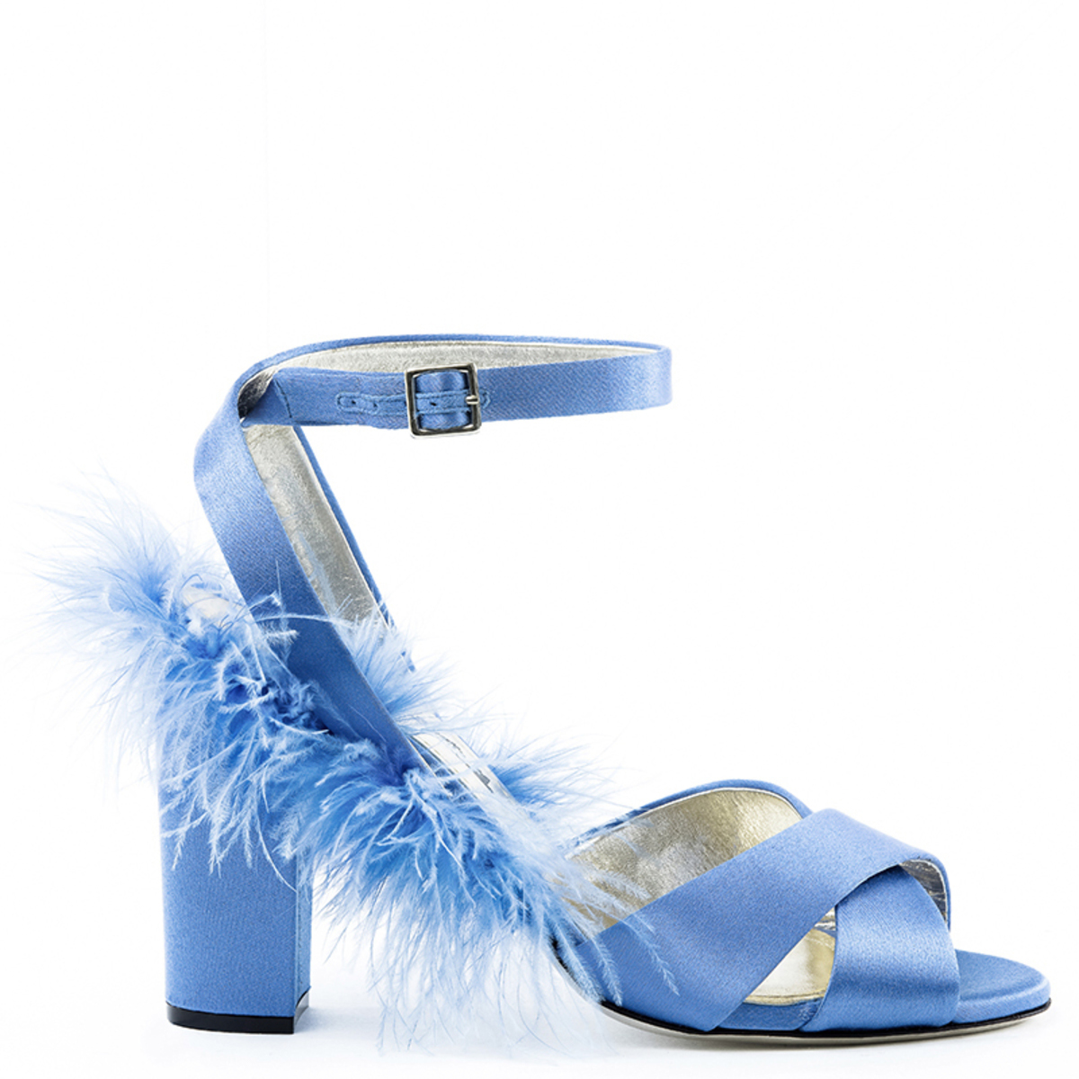 Plumes Sandals - LightBlue