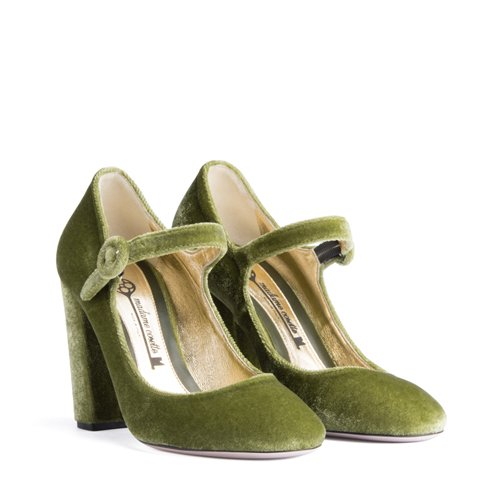 Mary Jane Olive green