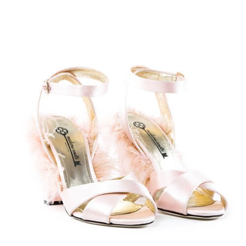 Plumes Sandals Pink