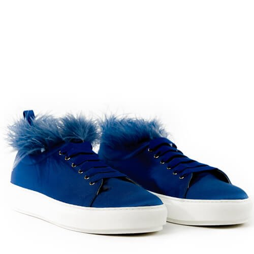 Plumes Sneakers Blue